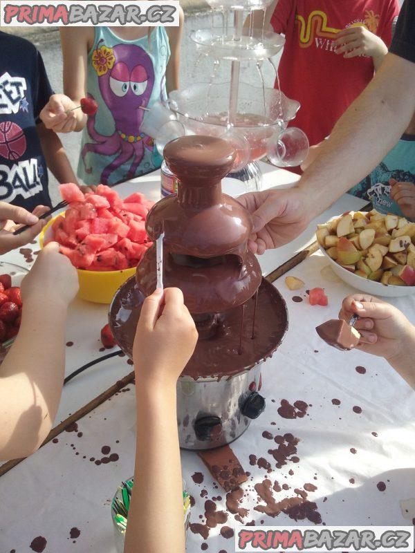 Čokoládová fontána příruční