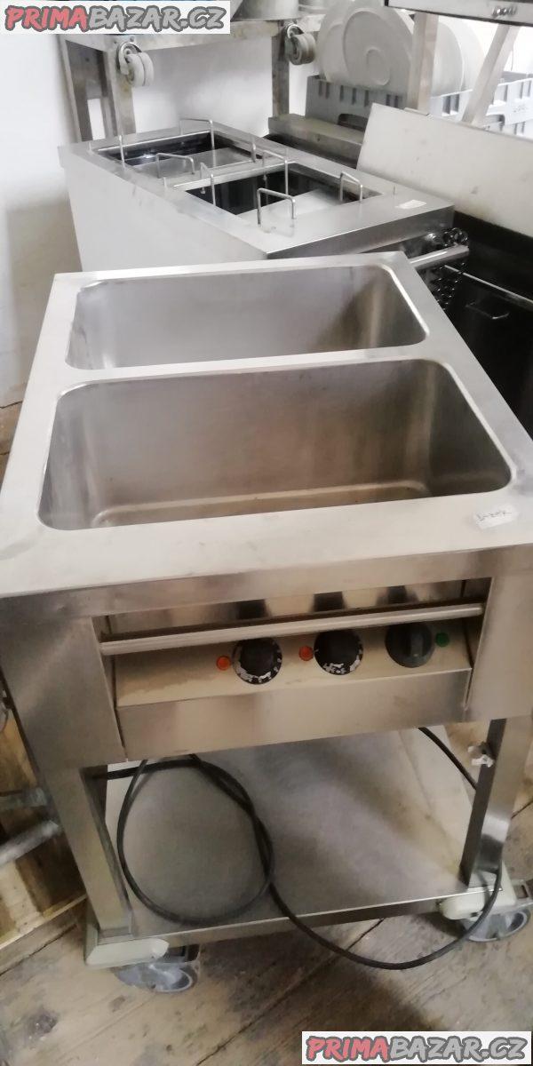 Ohřívací vozík, dělené 2 vany