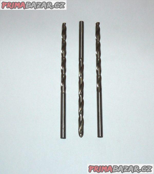 Vrták  6,6 mm s válcovou stopkou, dlouhý HSS, PN 2916