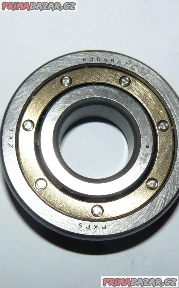 Ložisko 6304 MA ZKL mosazná klec ( 20 x 52 x 15 )