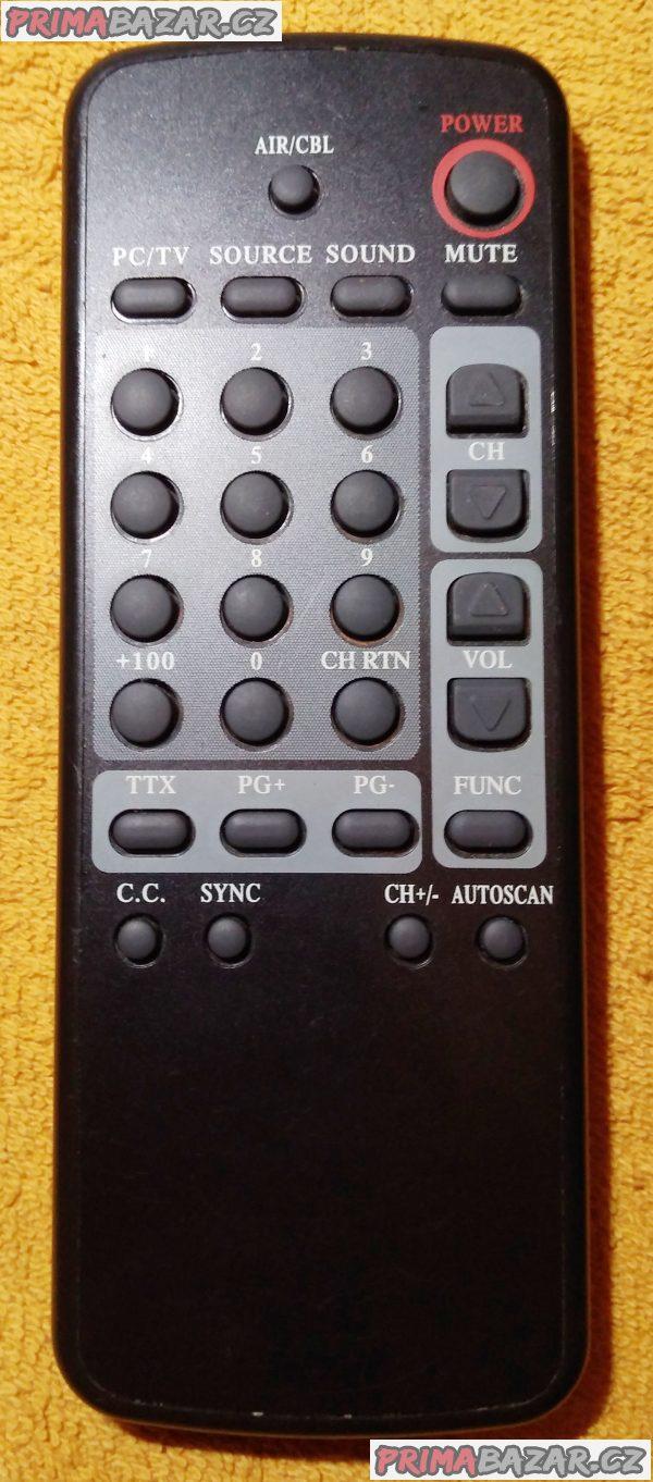 Neznámé dálkové ovladače - zachovalé a 100 % funkční!!!