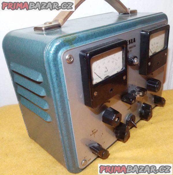 Zkoušeč transistorů Tesla BM 372!!!