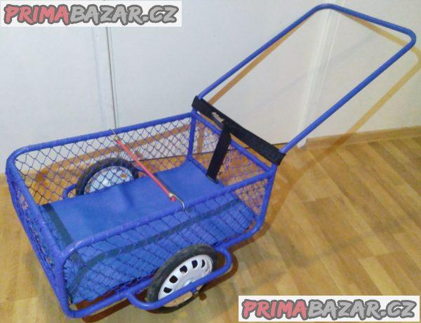Ruční vozík - dvoukolový POPULAR 1 + 4 DÁRKY!!!