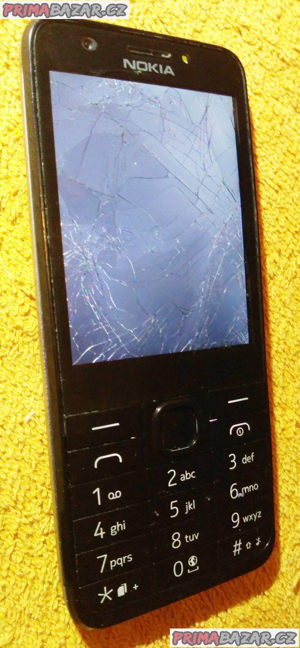 Nokia 230 na 2 SIM - vadný displej!!!