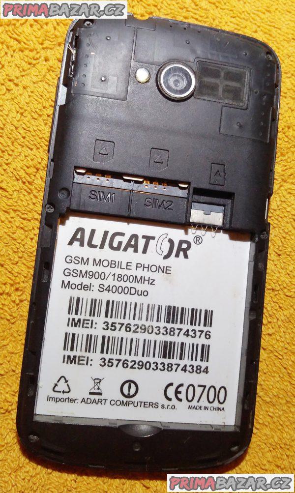 Aligator S4000Duo - k opravě nebo na náhradní díly!!!