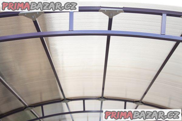 Zahradní přístřešek na auto GRANDE – 4 x 3.4 x 2.67 m