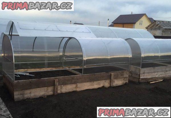 Pařeniště – malý skleník ALTO polykarbonát 4mm