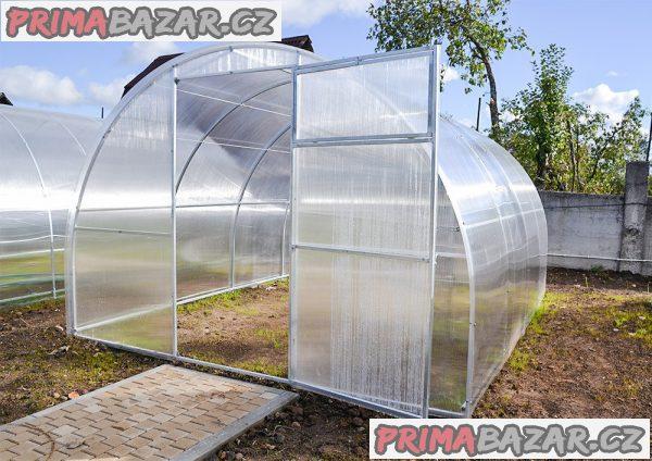Polykarbonátový skleník OPTIMA šířka 2.5 m
