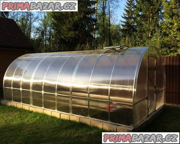 Polykarbonátový skleník PREMIUM
