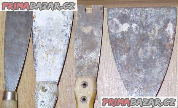 7 ocelových špachtlí!!!