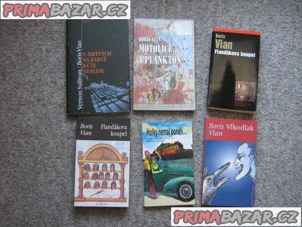 Prodám knihy Borise Viana