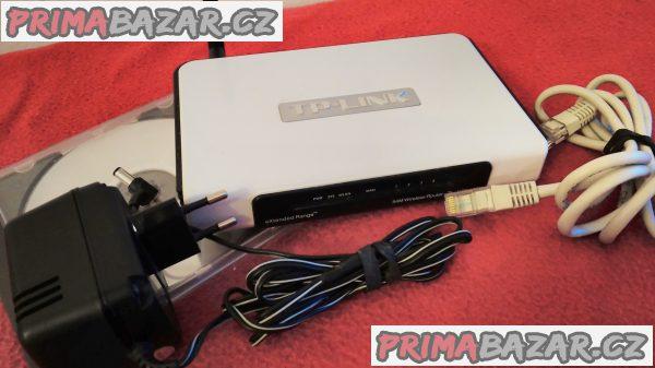 Wi-Fi router TP-LINK TL-WR542G - jako nový!!!