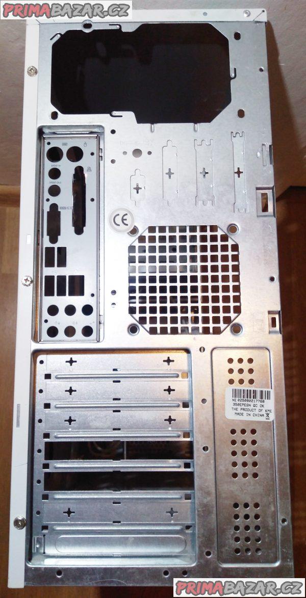 PC skříň Gigabyte + LG DVD.