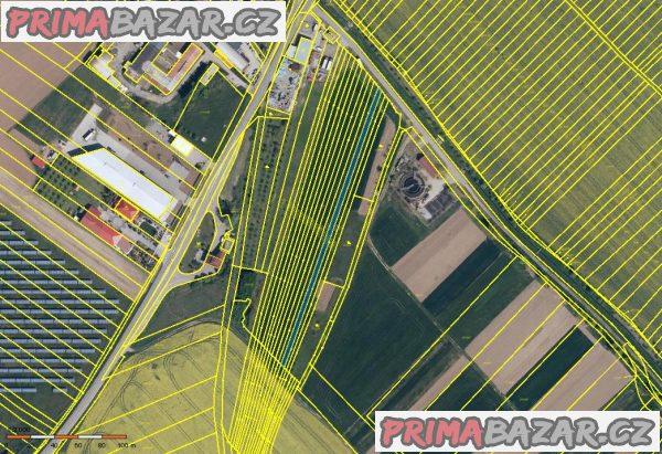 Polešovice okres Uherské Hradiště prodej pozemků orná půda 3.878 m2