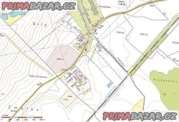 Ořechov okres Uherské Hradiště prodej pozemků orná půda 3.878 m2