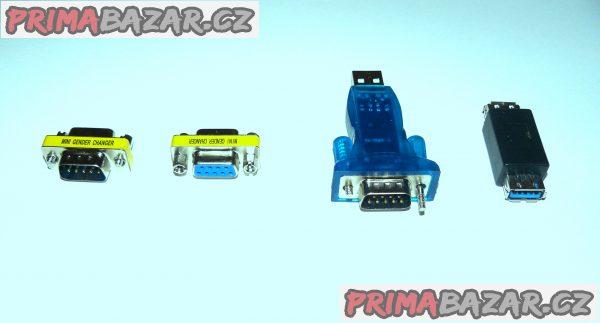USB porty, redukce k PC (sada 4 ks) NOVÉ