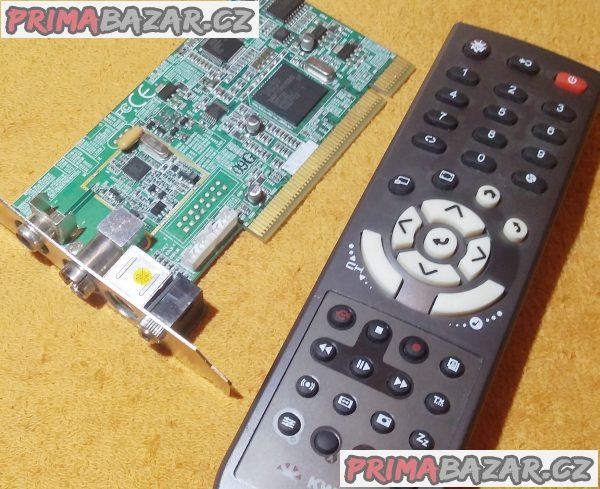 TV karta pro PC - KWorld s ovladačem!!!