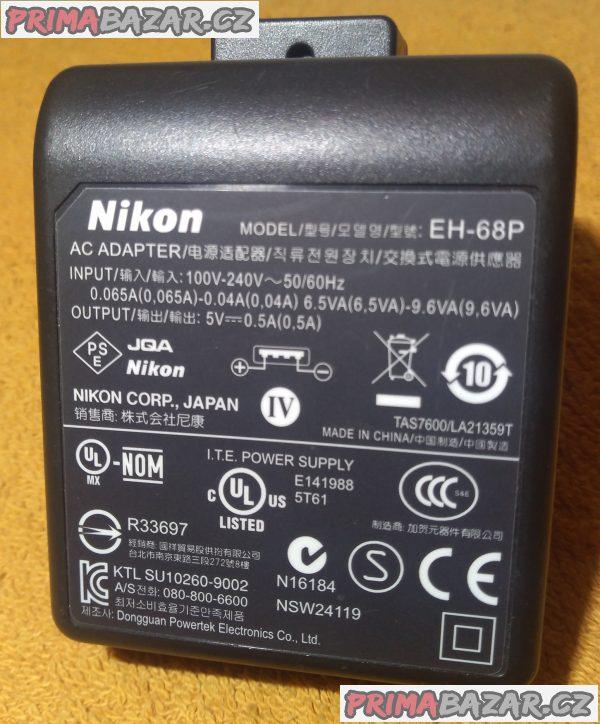 Originální napájecí AC adaptéry - zánovní!!!