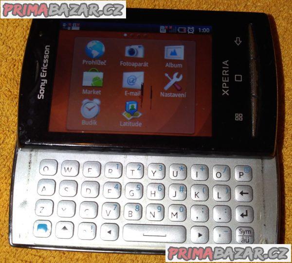 Dotykový a vysouvací Sony Ericsson Xperia X10 - 4 nedostatky!!!