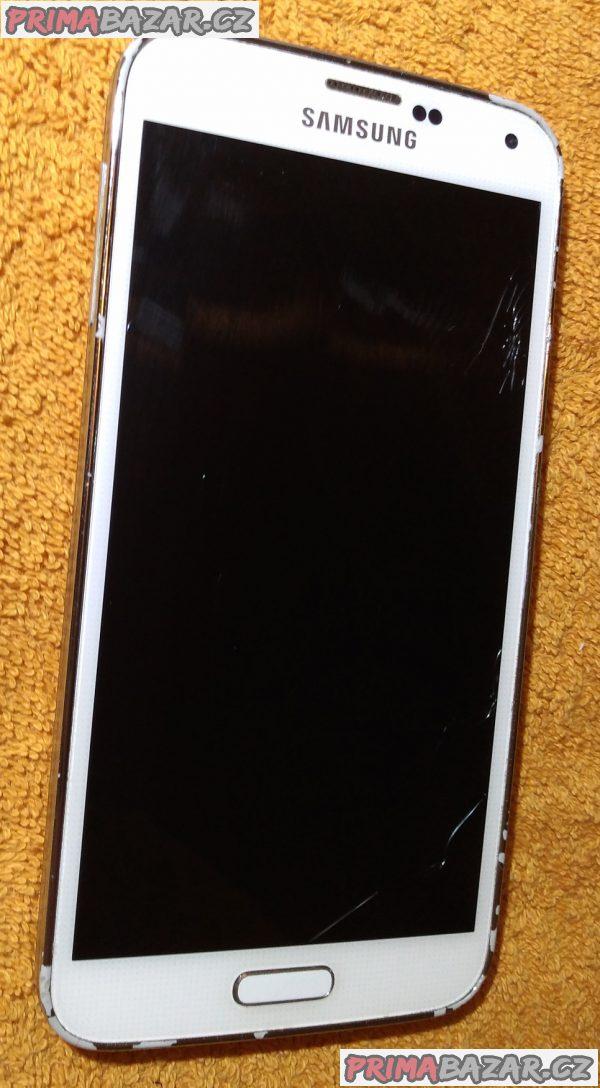 Samsung Galaxy S5 - 16 GB - na náhradní díly nebo kopravě!!!