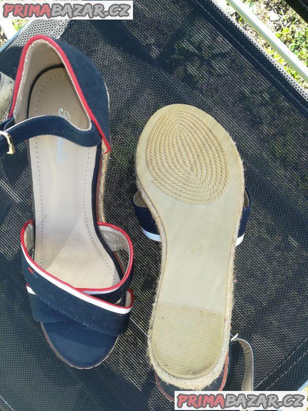 Damske boty vel 39