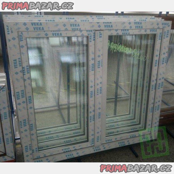 Plastové okno 120x120 bílé