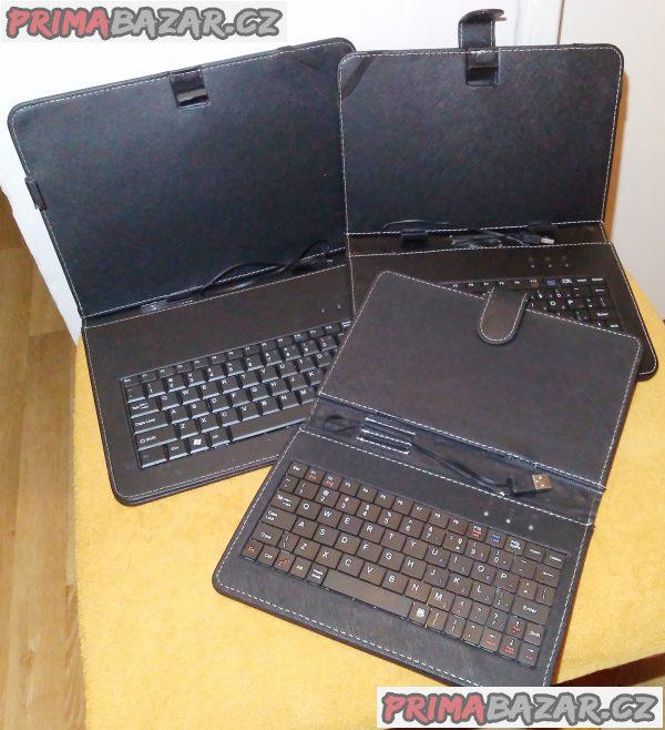 """3x kryt a klávesnice k tabletu - 10-11-12.5""""."""
