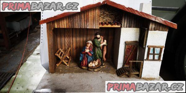 vánoční betlem