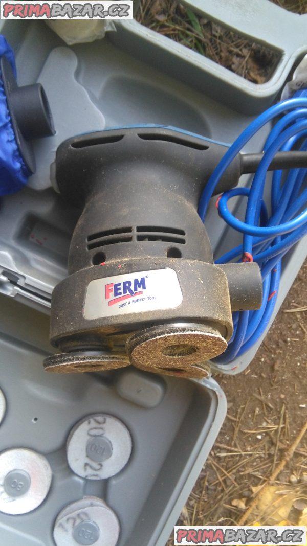 Elektrická vibrační bruska.