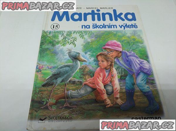 Martinka na školním výletě