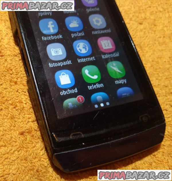 Nokia Asha 306 + nejde mikrofon!!!