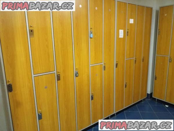 Šatní skříně do fitness - AKCE časově omezeno