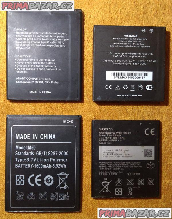 Baterie do mobilů - cena dohodou!!!