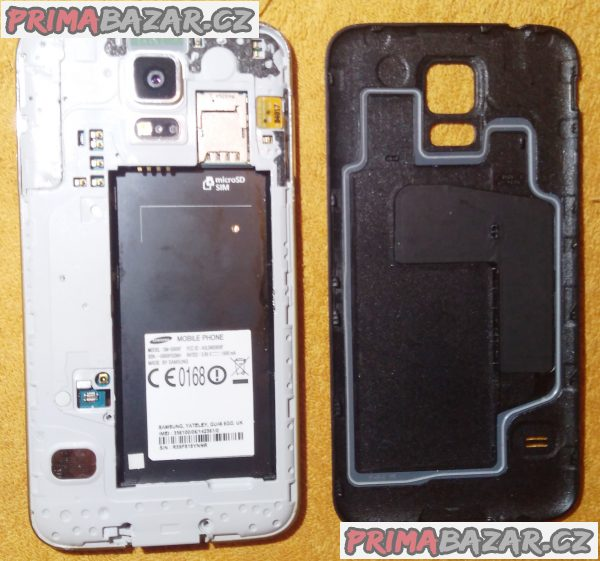 Samsung Galaxy S5 - 16 GB - na náhr. díly nebo kopravě!!!