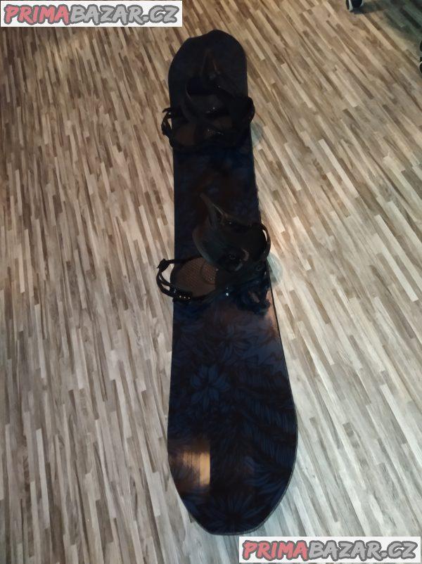 Freeride snowboard set bataleon omni 162cm+vázání union falcor black