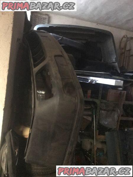 VW Golf 3 nárazník struktura