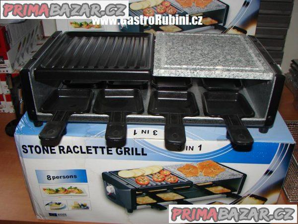 Raclette gril elektrický