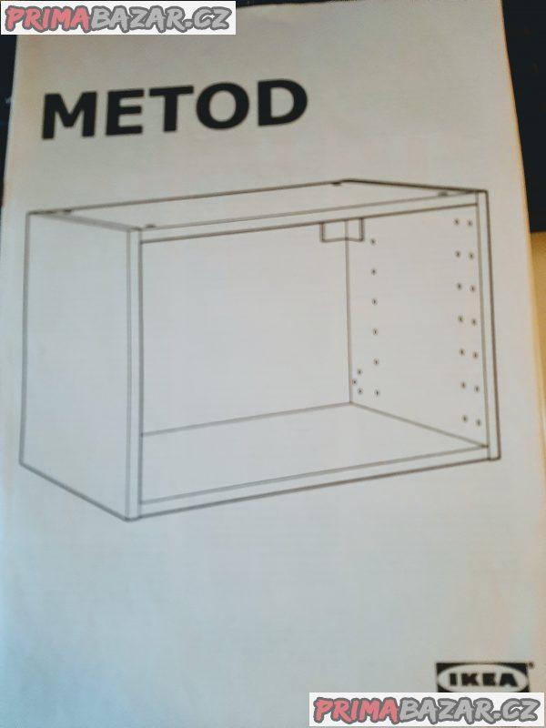 Vestavná digestoř UTDRAG s osvětlením LED (z IKEA)