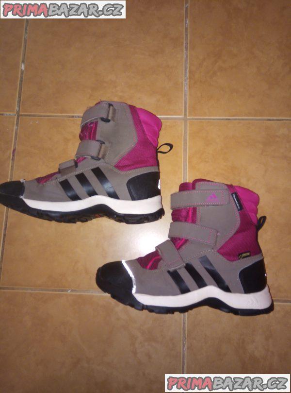 Zimní boty Adidas vel. 36
