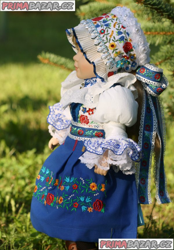 Panenka v kroji - petrovský