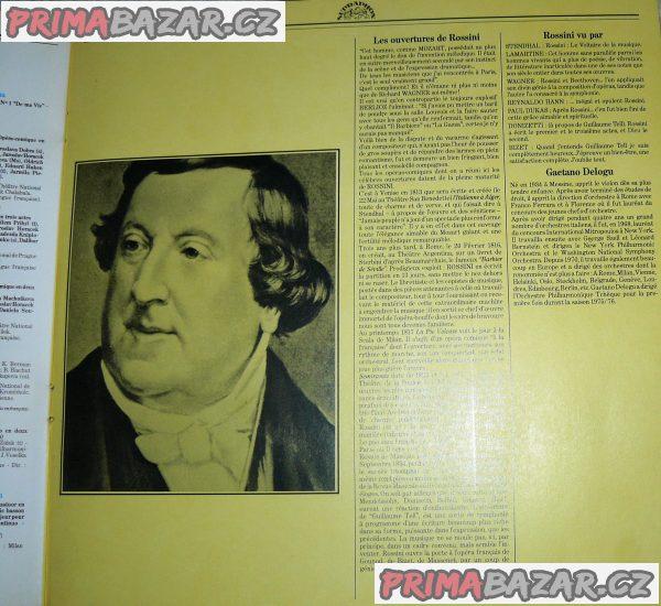 "LP - G. ROSSINI ""Overtury""- Gaetano DELOGU, r.1978"