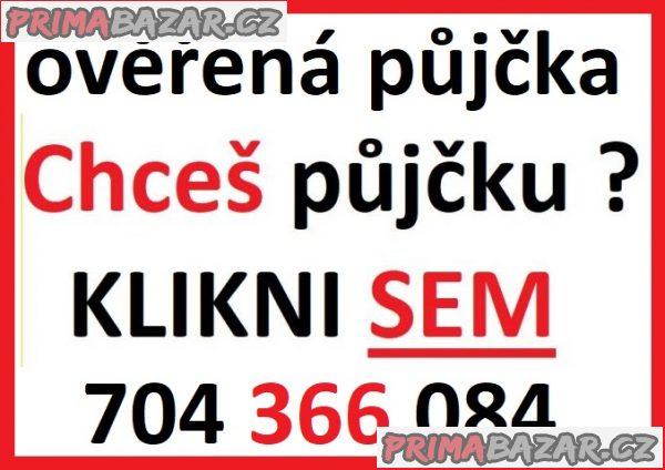 Rychlá půjčka - 704 366 084