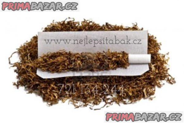 Ideální tabák pro plnění dutinek, pečlivě řezaný, kvalita jak v obchodě.