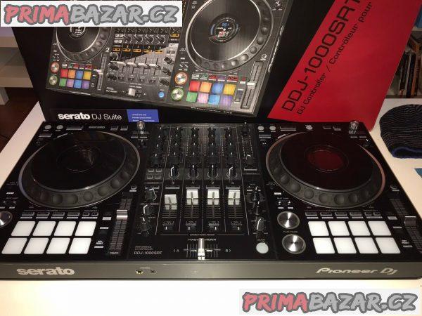 Zcela nový Pioneer DJ DDJ-1000SRT 4-kanálový profesionální DJ ovladač pro rekordbox dj