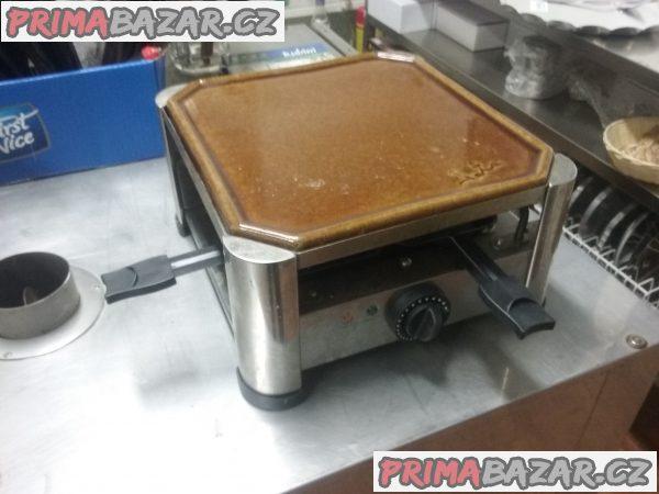 Gril raclette s terakotou