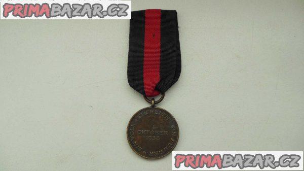 Medaile za obsazení Sudet