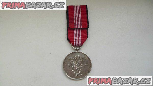 Německá olympijská medaile 1936