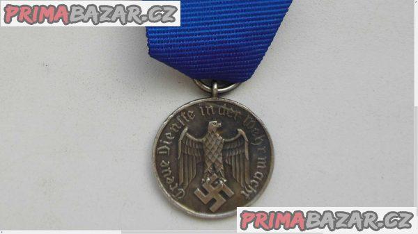 Německé vyznamenání za dlouholetou službu