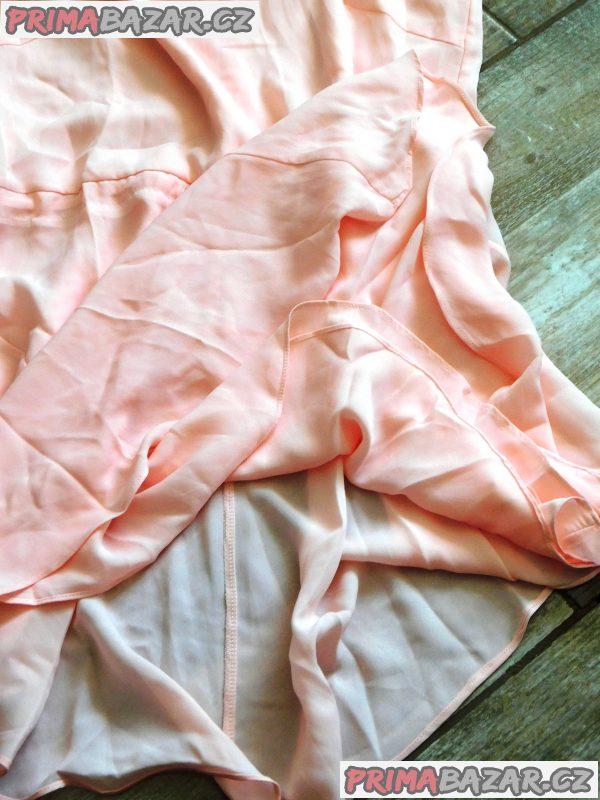 Společensko letní šaty-vel.S-nové,bez visačky