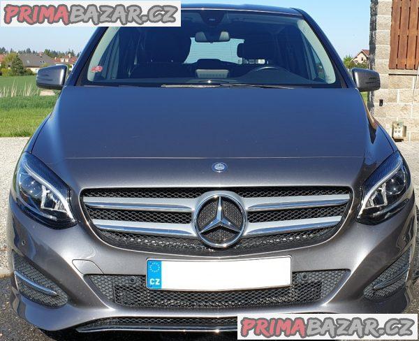 Mercedes B 180 CDI-PO SLEVĚ-2015-ČR-89000km-Ser.K